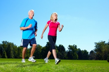 bigstock-Happy-senior-couple-jogging-in-36493645