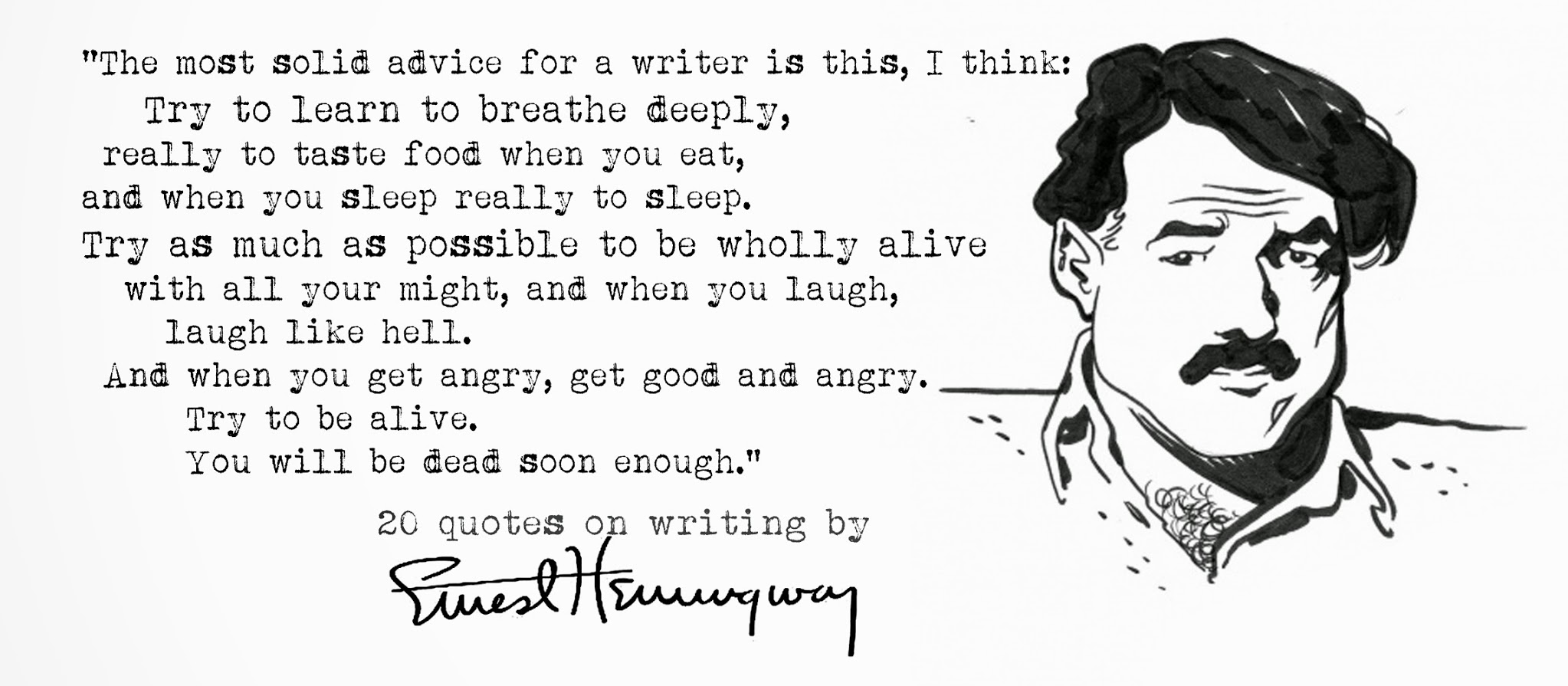Advice from Ernest Hemingway on Living Fully Alive | Ken Davis