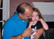 Mike Lahouti and granddaughter Lexi